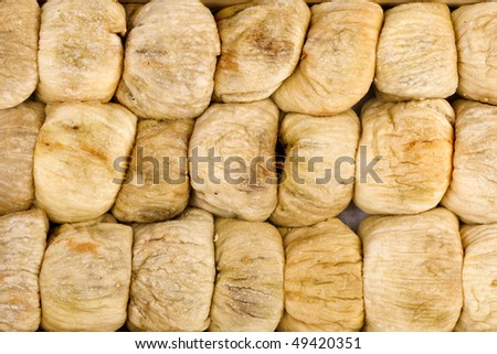 figs dried fruit background