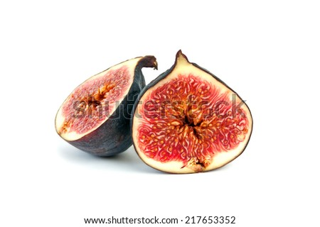 Figs figs isolated on white background