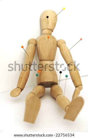 Figure at valentine's day - stock photo