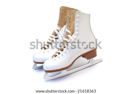 Figure skates - stock photo
