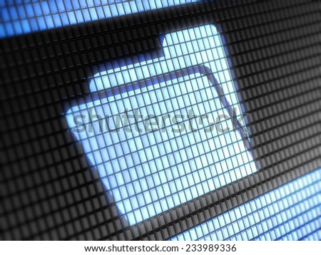 File icon - stock photo
