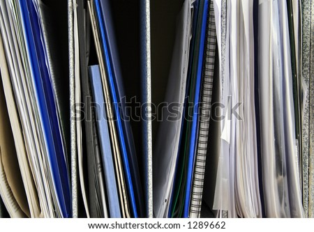 Files and documents - stock photo
