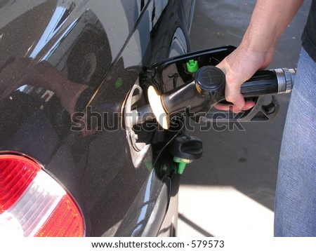 Fill it Up - stock photo