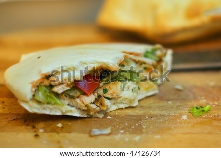 Filled Pitta