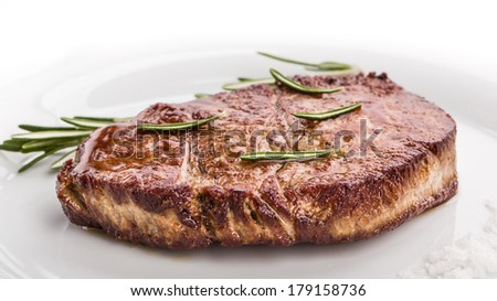 Fillet of beef with rosemary and sea salt
