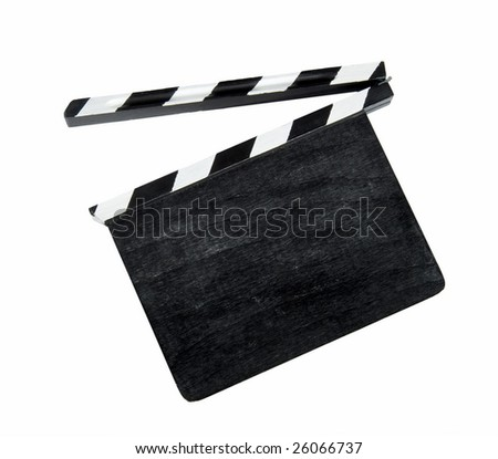 Film clap board - stock photo