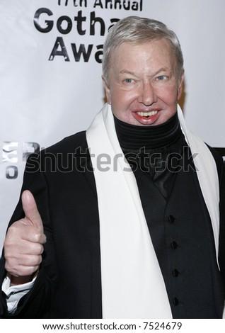 Film Critic Roger Ebert - stock photo