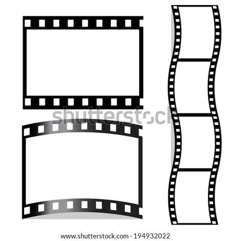 film, filmstrip - stock photo