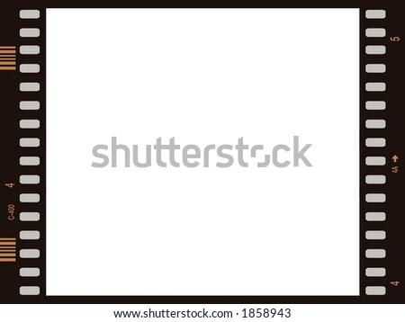 film frame - stock photo
