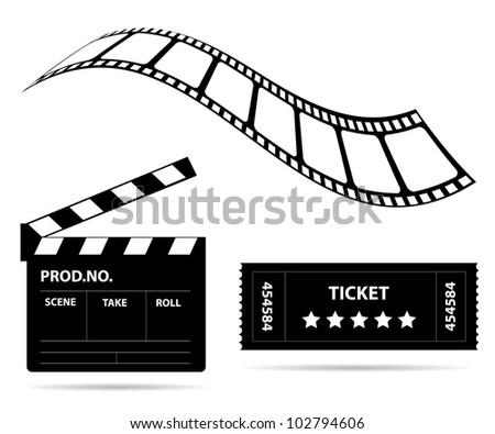 Film industry - stock photo
