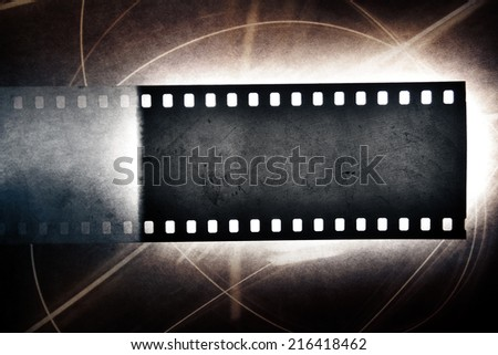 Film negative frame - stock photo