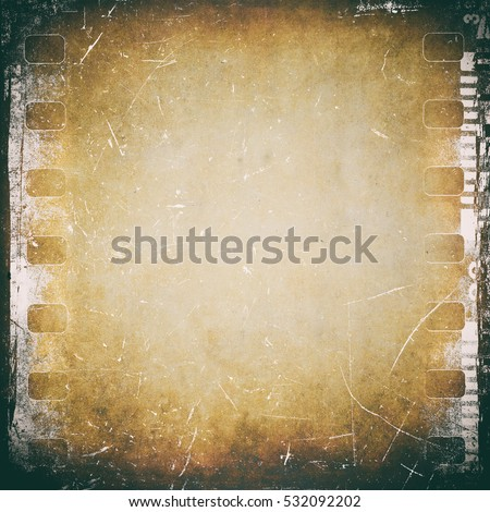 Film strip background, vintage texture