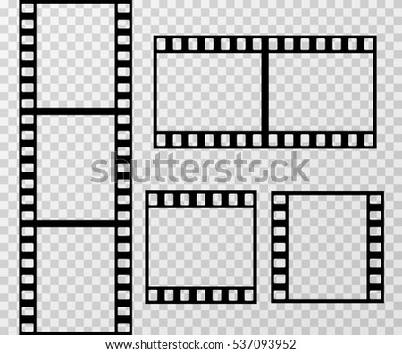 Filmstrip stock images royalty free images vectors for Film strip picture template