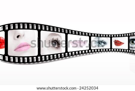 filmstrip - stock photo