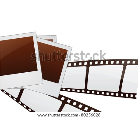 Filmstrip and Photo frames