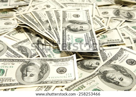 finance background  - stock photo