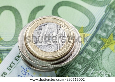 Finance concept - stock photo