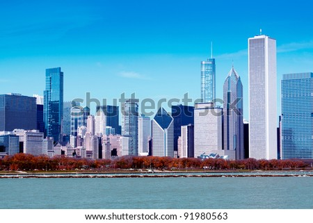 Finance District - stock photo