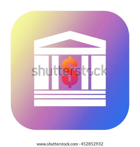Finance icon - stock photo