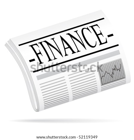 Finance newspaper.