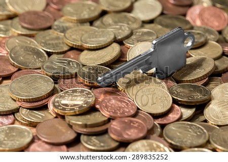 Finance Plan for House - stock photo