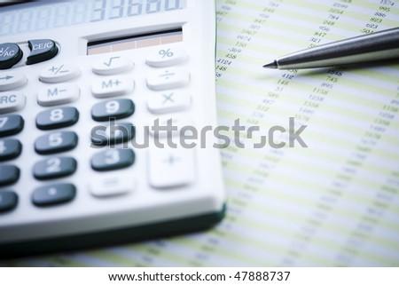 Finance series - stock photo