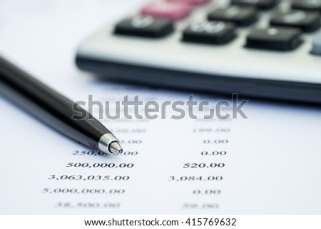 Financial accounting stock market