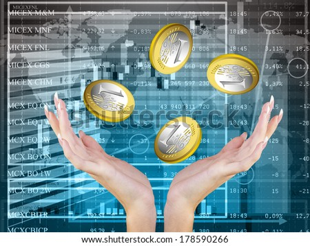 Financial Business.Concept - stock photo