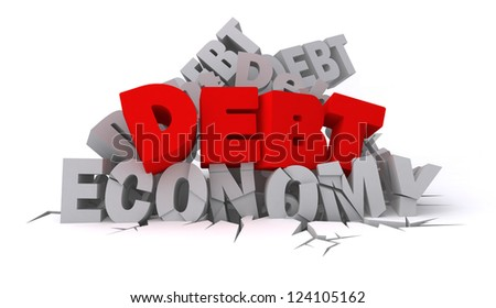 Financial Crisis - stock photo