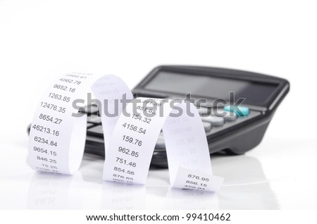 Financial data - stock photo