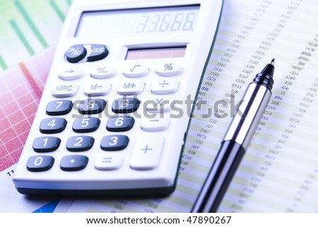 Financial Planning - stock photo