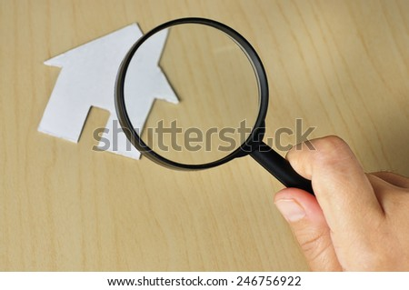 Find A Budget Home Concept, Selective Focus   - stock photo