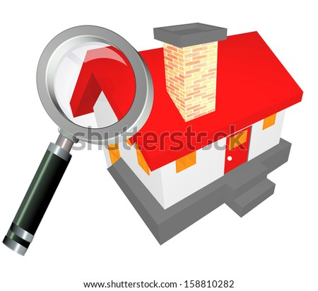 find house buy rent  - stock photo