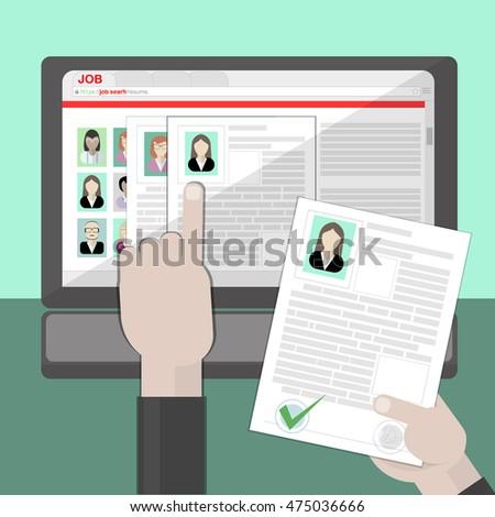 find resume