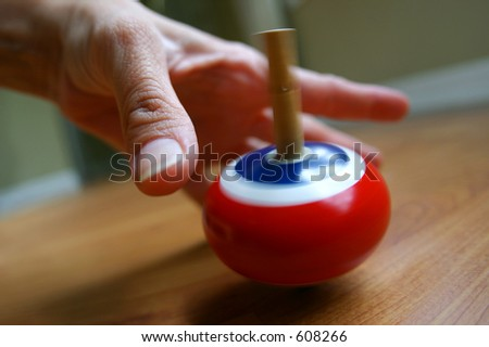 Finding the balance - stock photo