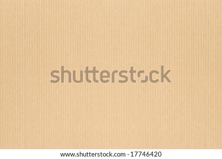 Fine cardboard texture - stock photo