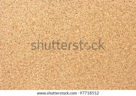 Fine cork texture with for background usage - stock photo