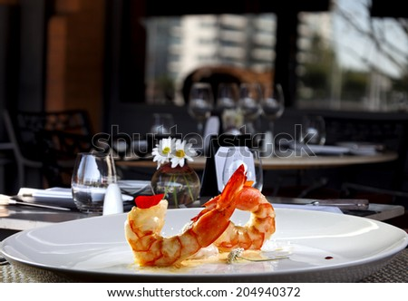 Fine dining - stock photo