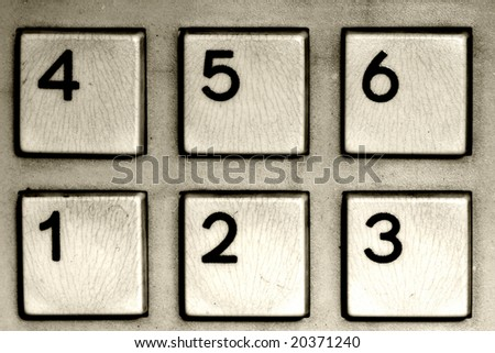 fine image of number calculator closeup background
