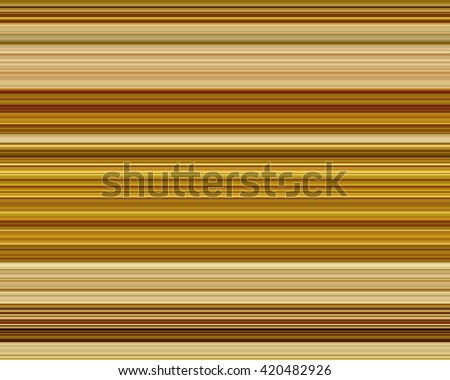 Fine line brown horizontal stripe pattern