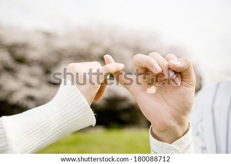 Finger - stock photo
