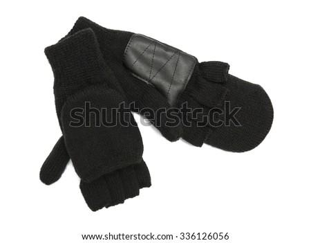 Fingerless gloves - stock photo