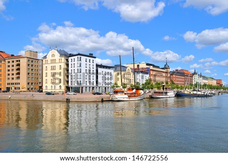 Finland. One of the most beautiful places in Helsinki �¢?? the North quay