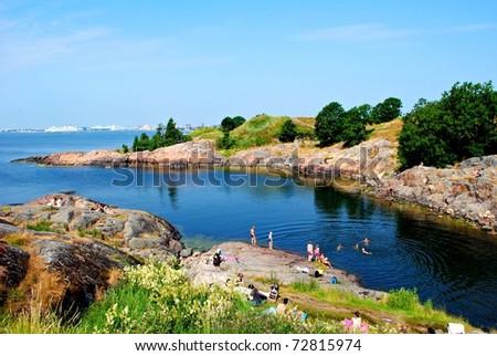 Finnish summer - stock photo