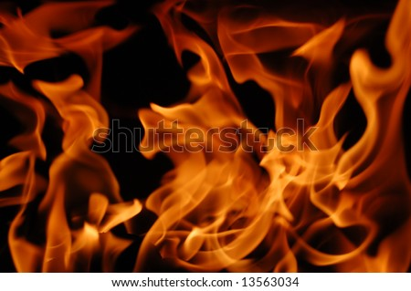 Fire 4 - stock photo