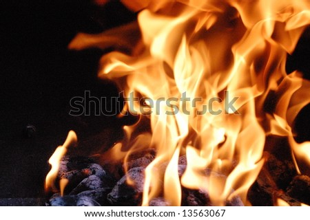 Fire 12 - stock photo
