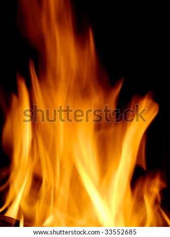 Fire as a background