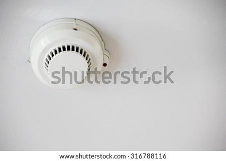 Fire detector - stock photo