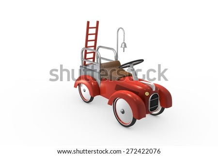 Fire Engine - Toys - stock photo