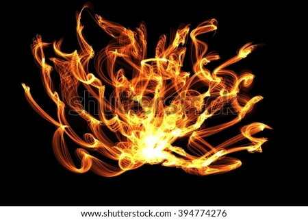 Fire Flames special effect